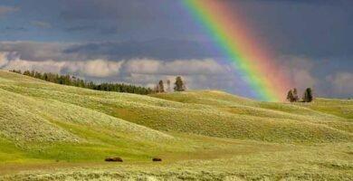soñar con arcoiris